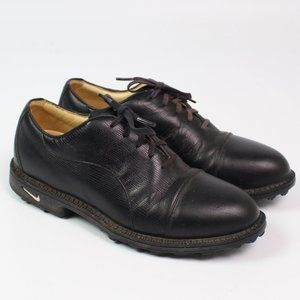 Nike Air Bella Last black leather golf shoes